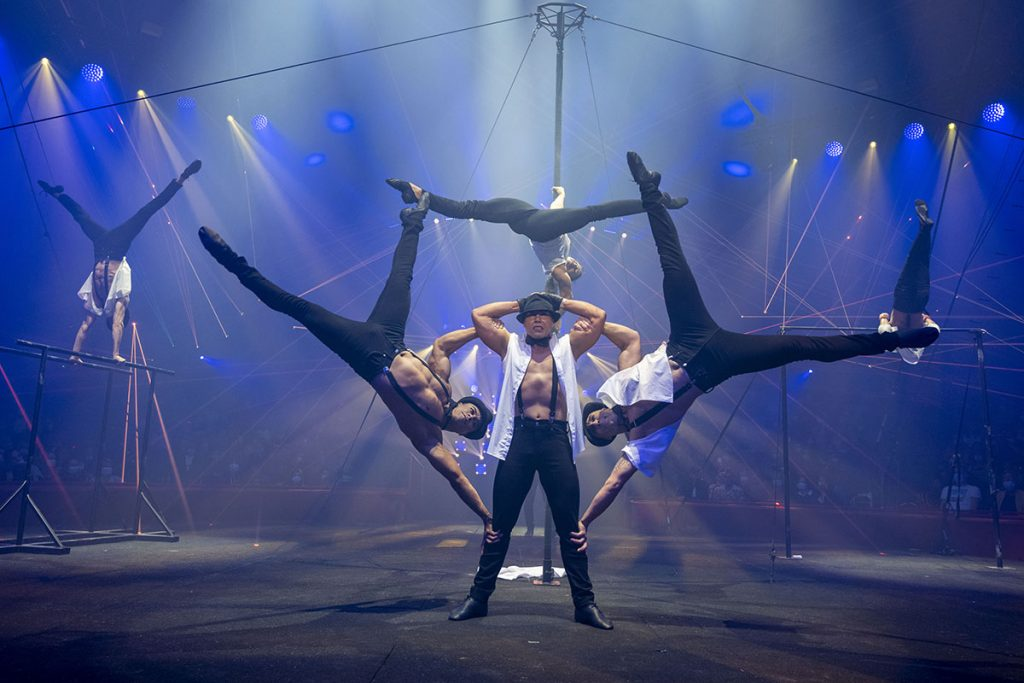 Team Street Workout « le cirque joue les gros bras »