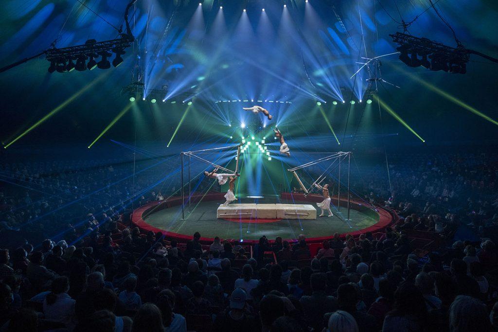 balançoire russe, la troupe Free Hearts
