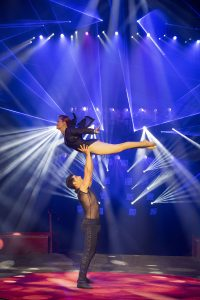 duo acrobatique, Julia Friedrich & Kevin Gruss